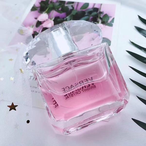 Brand pink cry tal perfume 2018 women perfume fragrance deodorant health beauty la ting fruity fragrance women parfum eau de toilette 90ml