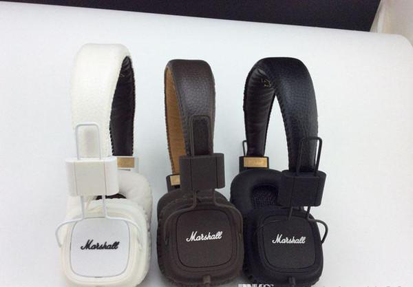 Heißer Verkauf Marshall Kopfhörer Major Mit Mikrofon Große Bass Hi-Fi Headset HiFi Kopfhörer Professionelle DJ Monitor Kopfhörer