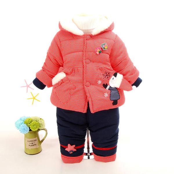 Baby Winter Kleidung Sets Kinder Mädchen Weihnachten Kleidung Sets Dicke Warme Schneeanzug Kleidung Kinder Winter Outfits