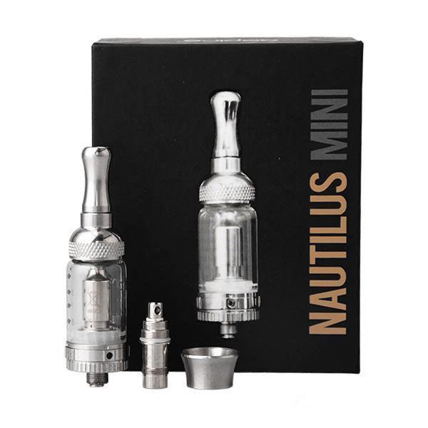Airflow Control Nautilus & Nautilus mini Atomizer replacement Nautilus BVC coil Glass tube Tank 2ml 5ml e Cigarette dual Coils clearomizer