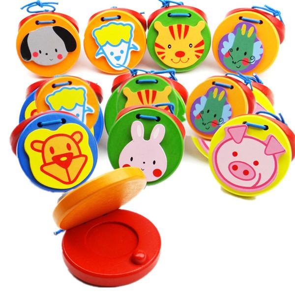Baby Sound Board in legno Percussioni Strumenti Orff Giocattoli educativi in legno animali Percezione di giocattoli musicali per bambini C4133