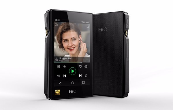 Fiio X5 3rd gen Android-based Mastering Quality Lossless Playback Portable Music Player 3400mAh Li-polymer battery leather case