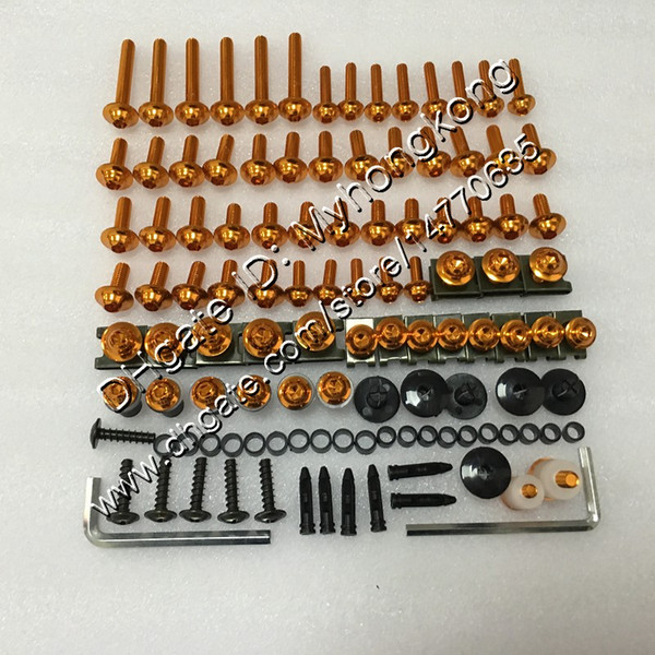 Fairing bolts full screw kit For KAWASAKI NINJA ZX2R ZXR250 1993 1994 1995 ZX 2R ZXR-250 1996 1997 97 Body Nuts screws nut bolt kit 25Colors