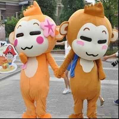 2018 Factory sale hot Monkey Mascot Costume Halloween Costumes Chirstmas Party Adult Size Fancy Dress Free Shipping