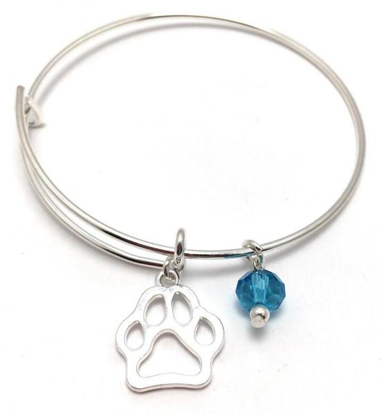 I LOVE CATS Réglable Charme Bangle Bracelet Ton Argent