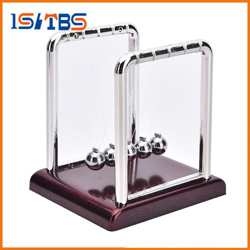 Hot Sale Early Fun Development Educational Desk Toy Gift Newtons Cradle Steel Balance Ball Physics Science Pendulum