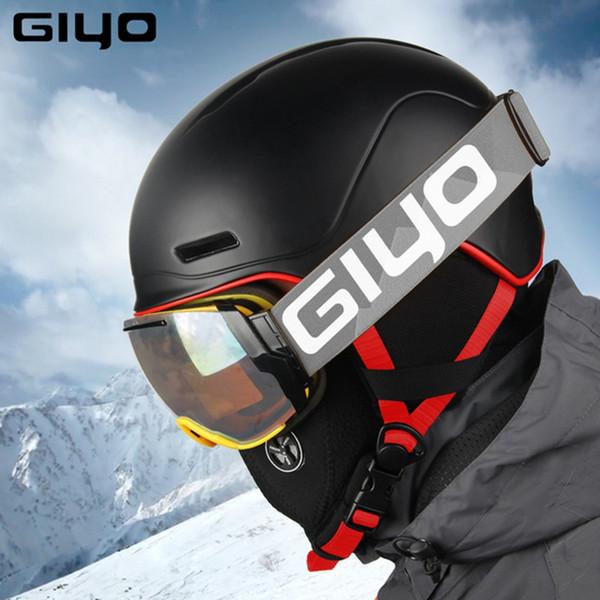 Casque de cyclisme Safty Hiver Printemps Sport de plein air Bicyclette Ski Snowboard Casques Unisexe Light Crash Snow Skate Casque de cyclisme