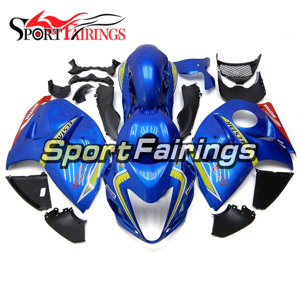 Complete Pearl Blue Injection fairings for Suzuki GSXR1300 GSX-R1300 08 09 10 11 12 2013 2014 2015 2016 ABS Plastic Cowlings