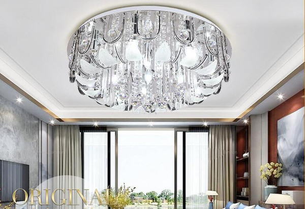 2019 LED Ceiling Lighting, European Style Living Room Lamps, Circular  Crystal Lamps, Dining Room, Bedroom, Modern Lamps And Lanterns From Miray,  ...