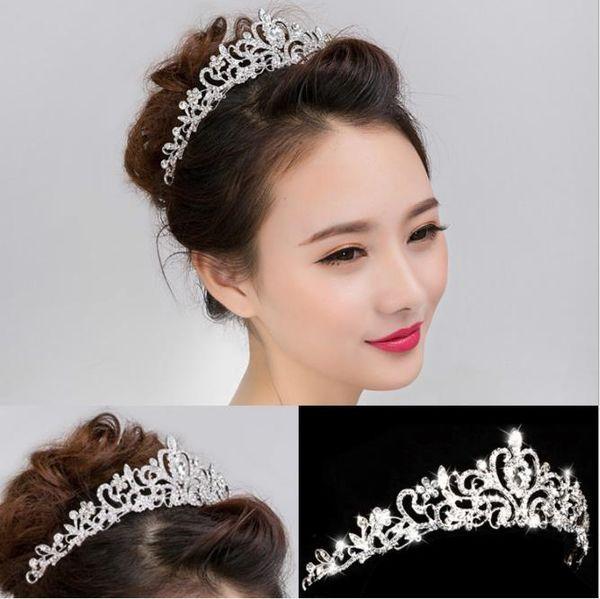 Flor de cabeça nupcial, vermelho casamento ameixa flor headwear, miçangas feitas à mão, acessórios, Qipao vestido accessoriesAlloy coroa noivas, noiva de casamento