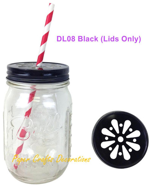 12 Gold Daisy Mason Jar Lids-Party Favor-Wedding Favor-Candle Cover-BBQ Party
