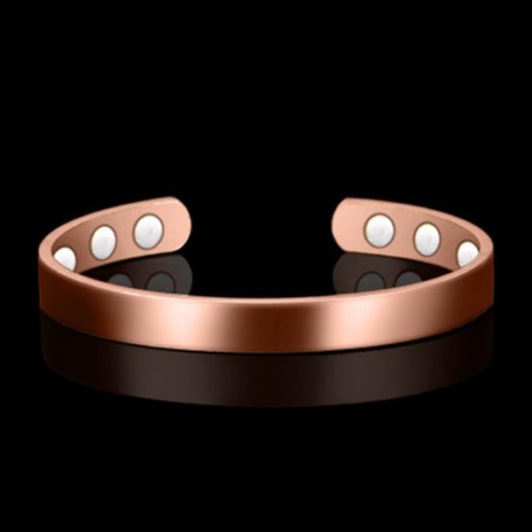 Magnetic Copper Bracelet Healing Bio Therapy Arthritis Pain Relief Bangle Cuff Magnetic therapy Bracelet For Women