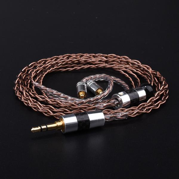Línea de actualización de auriculares 3. 5 MM 215 535 se846 DIY Custom Furukawa Single Crystal Copper Auricular Línea de actualización de fiebre