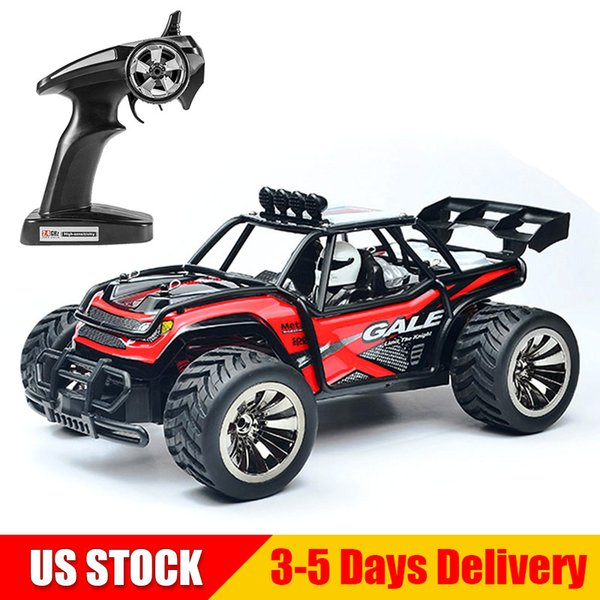 SUBOTECH 1:16 RC Car Off Road Vehicle 2.4GHz Remote Control Cars 2WD High Speed Racing Monster BG1512 Red US STOCK