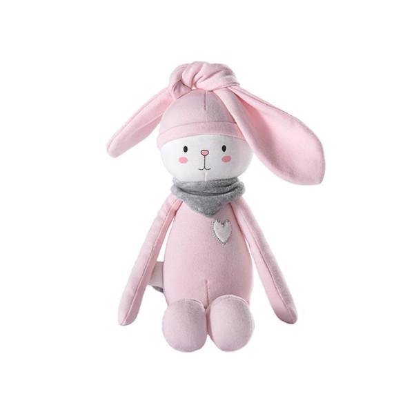 Soft Toys for Children Stuffed Animals Stitch Rabbit Cat Baby Doll Kawaii Plush Baby Girl Boy Twins Birthday Christmas Gift