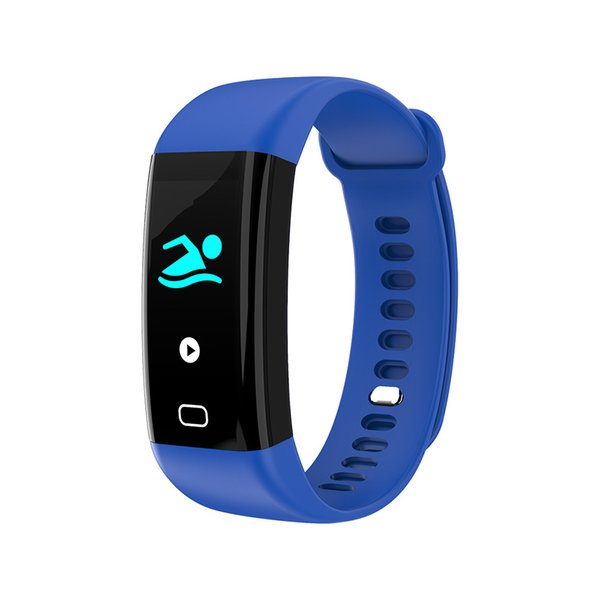F07 Bluetooth Akıllı Bant OLED Renkli ekran Bilezik IP68 Su Geçirmez Yüzmek Kalp Hızı Smartband Toptan