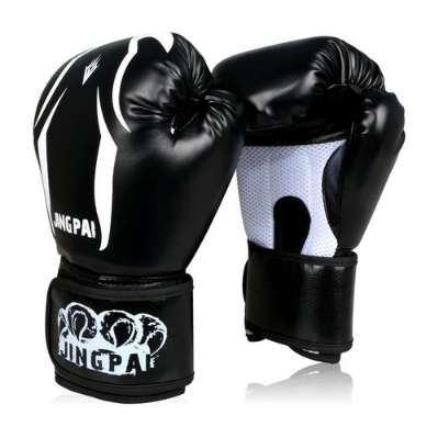 Boxing Gloves kick Boxing Gloves PU Leather Half Mitts Mitten Muay Thai karate taekwondo Training Boxing Sanda Gloves