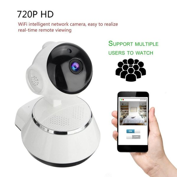 720P HD Wireless Wifi IP Camera 3.6mm Lens Monitor Camera Support Night Vision