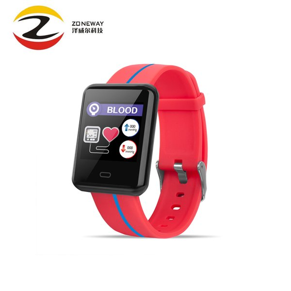 F5 Smart Bracelet PPG+ECG Heart Rate Sleep Monitor Sports Smart Wristbands Fitness Tracker Blood Pressure Test For IOS Android