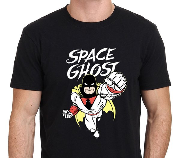 Moda Dos Homens Tshirt Fantasma Do Espaço 80's Dos Desenhos Animados da Velha Escola dos homens T Shirt Tamanho S - Para - 3xl 100% Algodão de Manga Curta