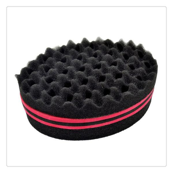 Magic Head Twist Sponge Men Barber Hair Brushes Black Dreads Locking Afro Twist Curl Brush Hair Styling Tools Twisting Sponge Dreads