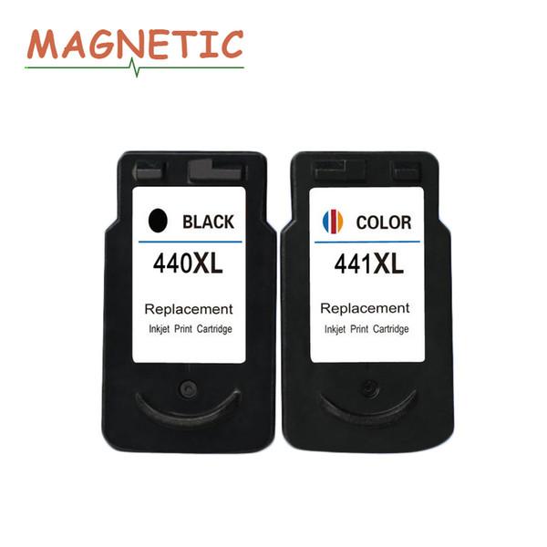 2X PG440 PG-440 441 compatível Tinteiro Para Canon PIXMA MX374 MX394 MX434 MX454 MG3240 impressora a jato de tinta MG3540 pg440xl 441xl