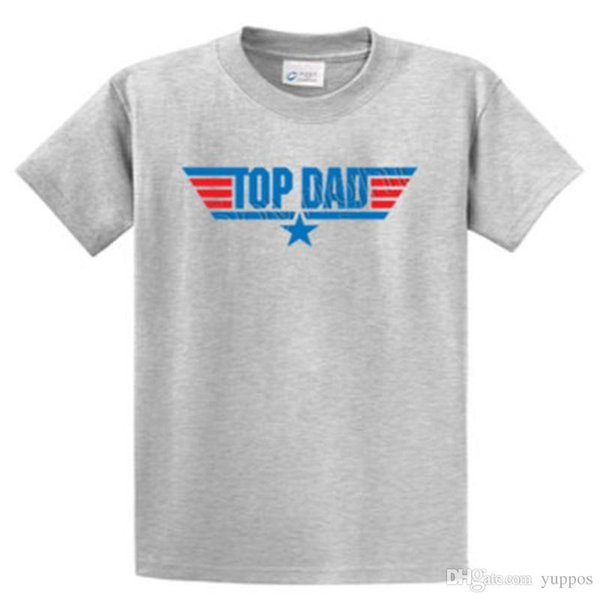 Newest 2018 Top Dad Printed Tee Shirts Regular to Big and Tall Sizes Port & Company Printed t shirt Men t shirt Casual Tops