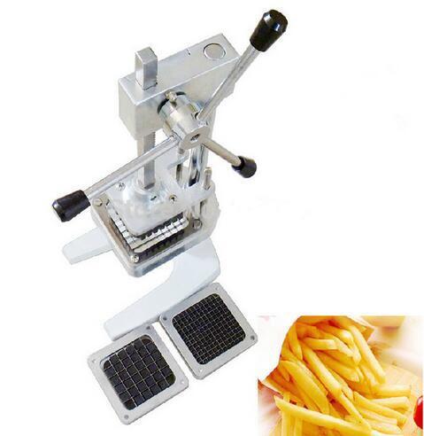 Nueva máquina de corte manual vertical del cortador de las patatas fritas del corte de las patatas fritas