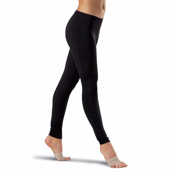 Womens Plus Size Ankle Length Nylon Lycra Spandex Dance Workout Leggings