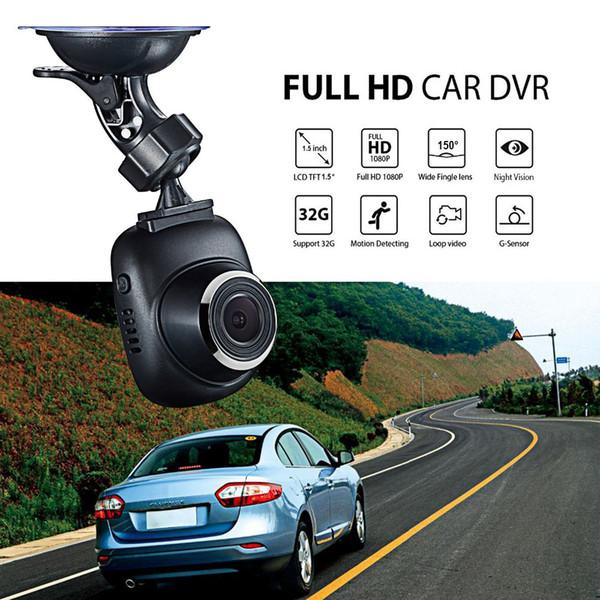 Auto Dvr Dash Cam 1,5 pollici Mini LCD in tempo reale telecamera per auto sorveglianza Full HD 1080P Registratore Registrar