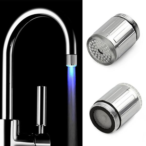 Großhandel Hight Qualität 7 Farben LED Wasserhahn Licht Änderndes ...