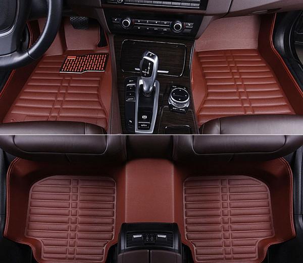 Para Tapetes Do Tapete Do Carro Personalizado para BMW X1 x3 x4 X5 X6 M4 M5 M6 2010 2012 2014 2017 2018 anos Carro-styling Car Mats vaso 2114