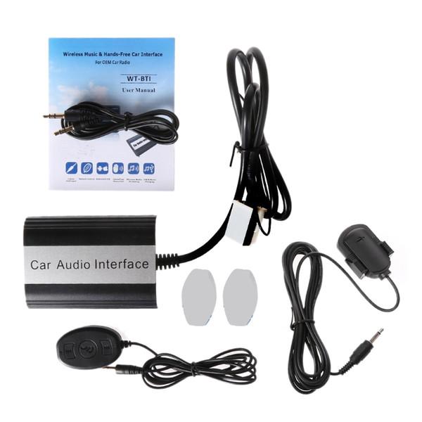 Freisprecheinrichtung Auto Bluetooth Kits MP3 AUX Adapter Schnittstelle für VW 12PIN