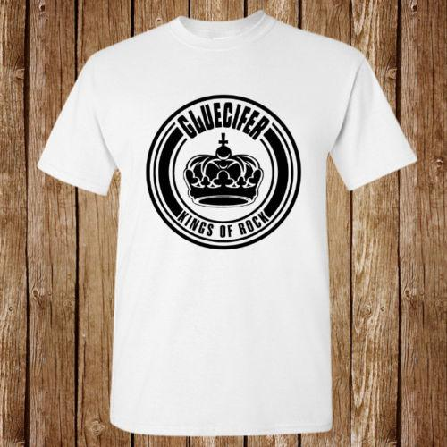 Gluecifer King Of Rock Logo Nueva Camiseta Unisex