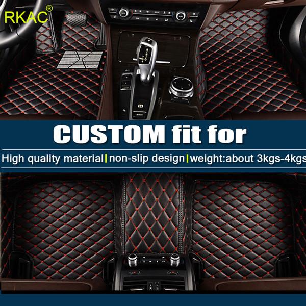 Custom fit car floor mats for Kia Sorento Sportage Optima K5 Forte Rio/K2 Cerato K3 Soul Cadenza Carens 3D car styling liner