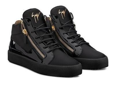 where can i buy hot sale 100% top quality Giuseppe&Nbsp; Zanotti 2018 Hot Sales Fashion Men And Women Sneakers,Snake  Skin Leather High Top Zanotti Casual Shoes,Original Box And Dust Casual ...