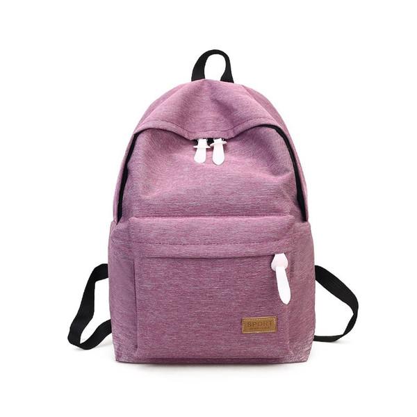 2018 Women Canvas Backpacks Ladies Shoulder School Bag Rucksack For Girls Travel Fashion Bag Bolsas Mochilas Sac A Dos