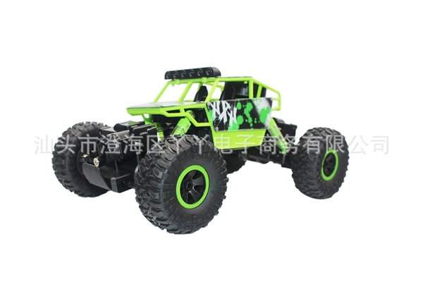 Electric high-speed remote control SUV 1: 18 children's toy car all-wheel-drive climbing cart