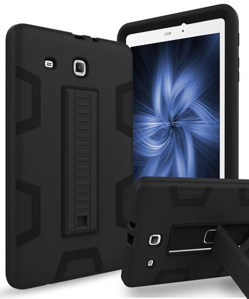 2019 Galaxy Tab E 9 6 Case,Three Layer Hybrid Heavy Duty Shockproof Anti  Slip Protective Case For Samsung Galaxy Tab E Wi Fi/ E Nook/E Veri From