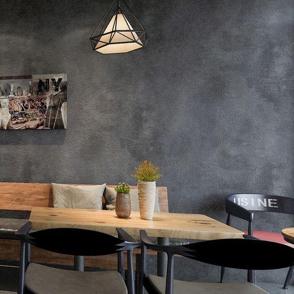 Retro Plain Grey Cement Pvc Vinyl Wallpaper For Walls Living Room Bar Cafe Restaurant Clothing Shop Background Wallpaper Roll A Hd Wallpapers A