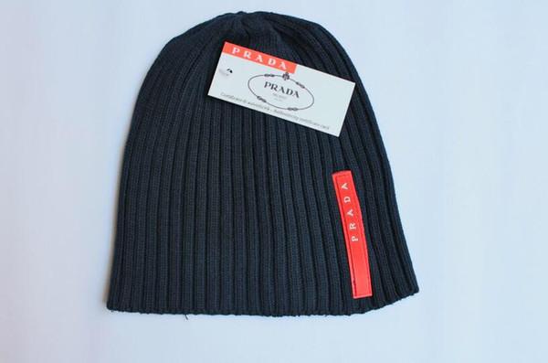 Berretto a maglia moda autunno inverno uomo cotone caldo cappello marca berretto capelli pesanti berretto torsione colore solido hip-hop cappelli di lana 5671