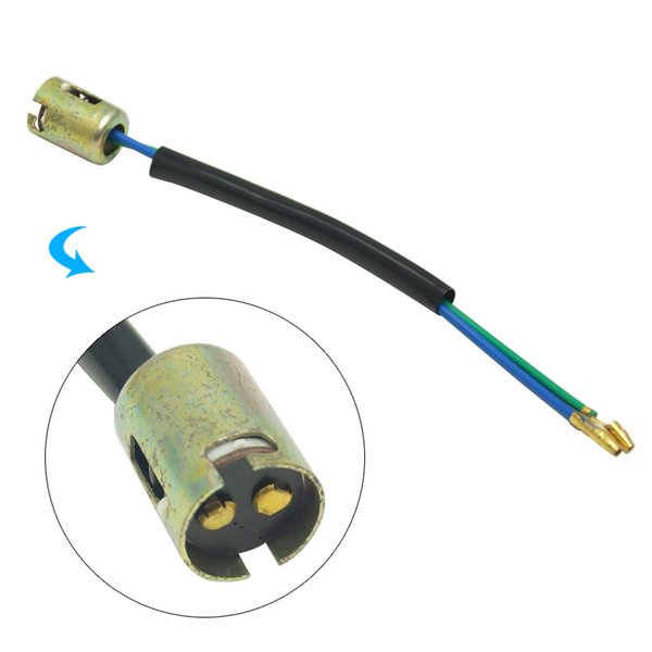 2 stücke Auto S25 1157 BA15D Brems Blinker LED Glühbirne Buchse mit Draht 1157 Lampenfassung Stecker # 5735