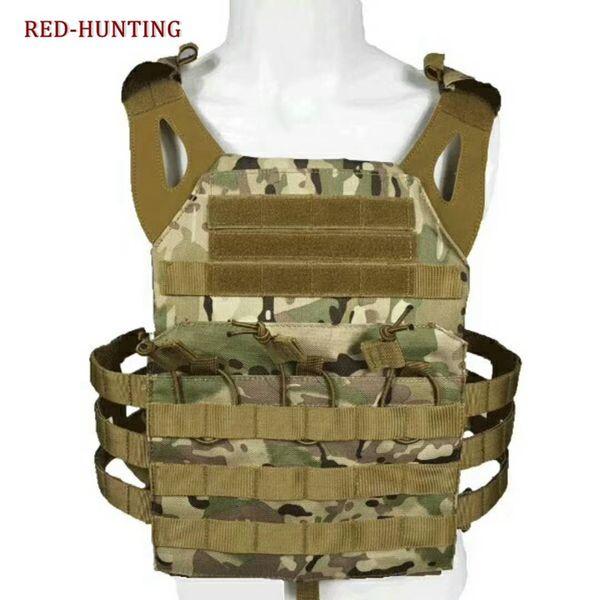 L'alta qualità Tactical Jumpable Plate Carrier JPC leggero Vest Armor + Piatti spedizione gratuita
