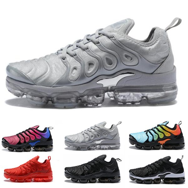 Großhandel Red Tn Grape Shock Airmax Sport Max Run Sunset Vapormax BETRUE Plus Shark Reverse Neue 2018 TN Freizeitschuhe Schuhe Air Nike Plus Outdoor ED2IH9