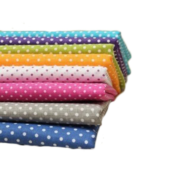 Hoomall 6/7/8PCs Cotton Fabric For Patchwork Cloth DIY Handmade Sewing Material Cheap Fabric Patchwork Accessories 25x25cm