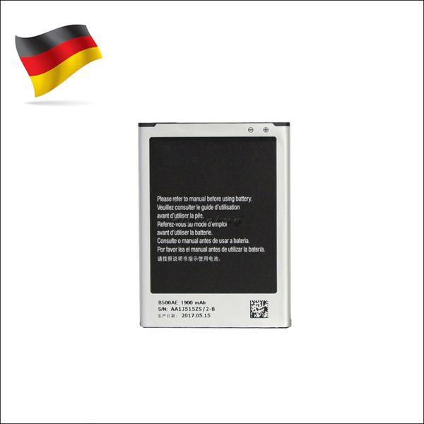 Germany Stock For Samsung Galaxy S4 mini i9190 i9192 OEM Battery B500AE 1900mah Replacement akku dhl ddp freeshipping