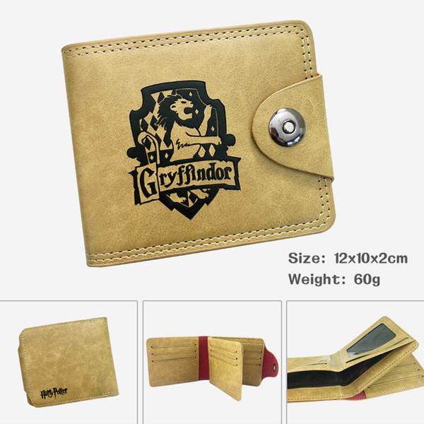Men Women Leather Wallet of Anime Harry Potter Hot Sale Money Bag for Gift Money Bag