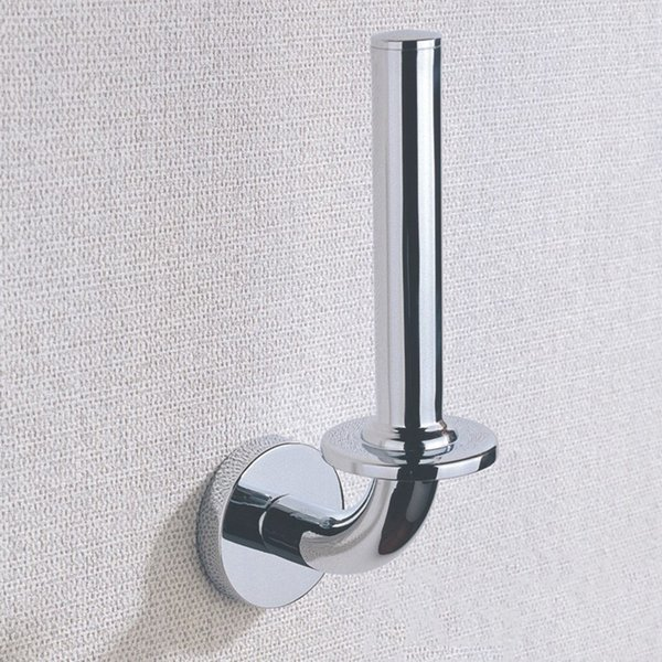 Brass Kitchen Toilet Paper Holders Wall Mounted Chrome Roll Hanging Holder Bathroom Accessories For Sale Wholesale