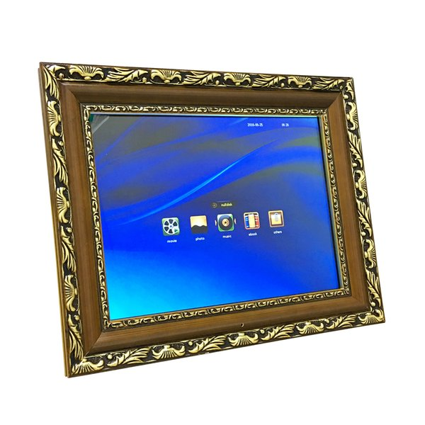 """14"""" Wide Screen HD LED Electronic Digital Photo Picture Frame Album 1024*768 with Remote Control MP3 MP4 Player SD Card Slot"""