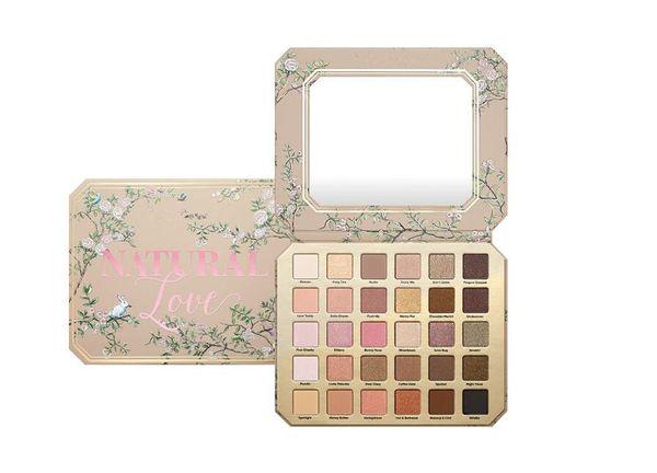 Dropshipping in stock Make-up Lidschatten-Paletten Chocolate Natural Love Lidschatten Kosmetik Kollektion Ultimate Neutral 30 Color Set